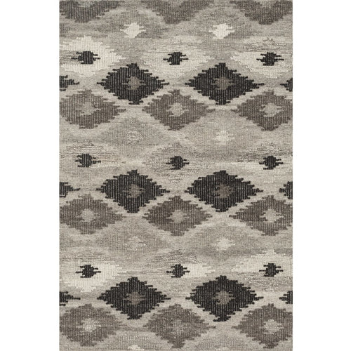 "Loloi Akina AK-02 Transitional Hand Woven Area Rug-Rugs-Loloi-Charcoal-3'-6"" x 5'-6""-Heaven's Gate Home, LLC"