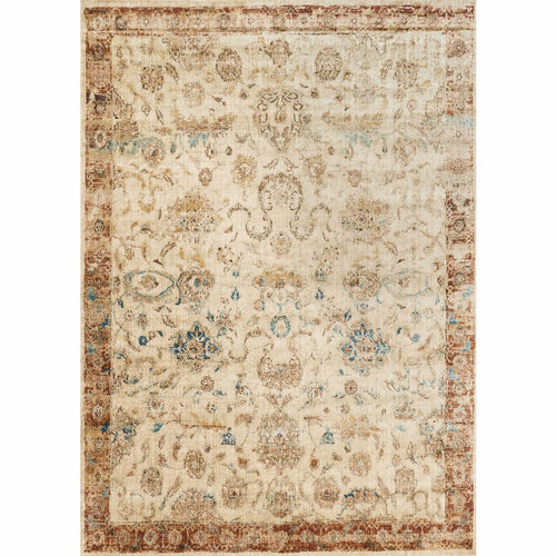 "Loloi Anastasia AF-04 Transitional Power Loomed Area Rug-Rugs-Loloi-Rust-2'-7"" x 4'-Heaven's Gate Home, LLC"