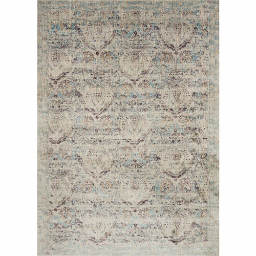 "Loloi Anastasia AF-05 Transitional Power Loomed Area Rug-Rugs-Loloi-Silver-1'-6"" x 1'-6"" Sample-Heaven's Gate Home, LLC"