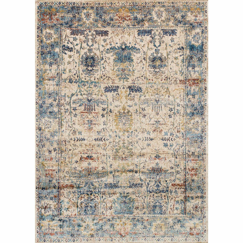 "Loloi Anastasia AF-07 Transitional Power Loomed Area Rug-Rugs-Loloi-Coral-2'-7"" x 4'-Heaven's Gate Home, LLC"