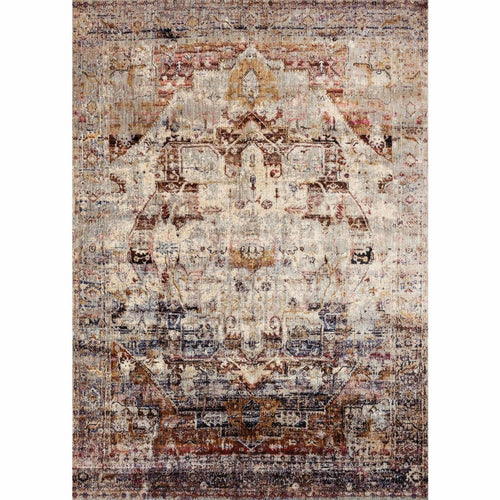 "Loloi Anastasia AF-08 Transitional Power Loomed Area Rug-Rugs-Loloi-Multi-2'-7"" x 4'-Heaven's Gate Home, LLC"