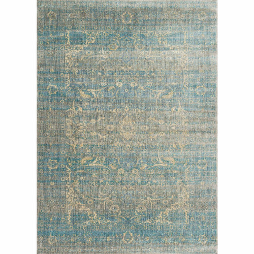 "Loloi Anastasia AF-10 Transitional Power Loomed Area Rug-Rugs-Loloi-Blue-2'-7"" x 4'-Heaven's Gate Home, LLC"