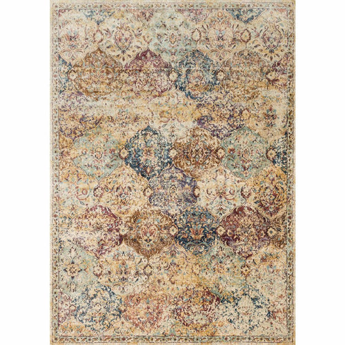 "Loloi Anastasia AF-12 Transitional Power Loomed Area Rug-Rugs-Loloi-Multi-2'-7"" x 4'-Heaven's Gate Home, LLC"