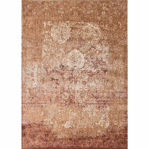 "Loloi Anastasia AF-18 Transitional Power Loomed Area Rug-Rugs-Loloi-Rust-1'-6"" x 1'-6"" Sample-Heaven's Gate Home, LLC"
