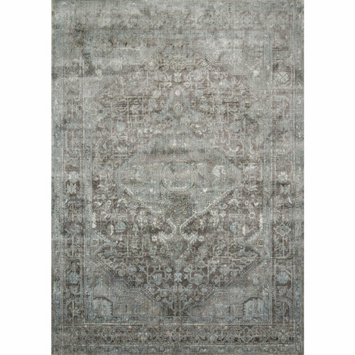 "Loloi Anastasia AF-22 Transitional Power Loomed Area Rug-Rugs-Loloi-Blue-1'-6"" x 1'-6"" Sample-Heaven's Gate Home, LLC"