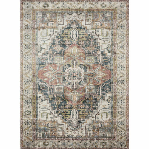 "Loloi Anastasia AF-23 Transitional Power Loomed Area Rug-Rugs-Loloi-Multi-2'-7"" x 4'-Heaven's Gate Home, LLC"
