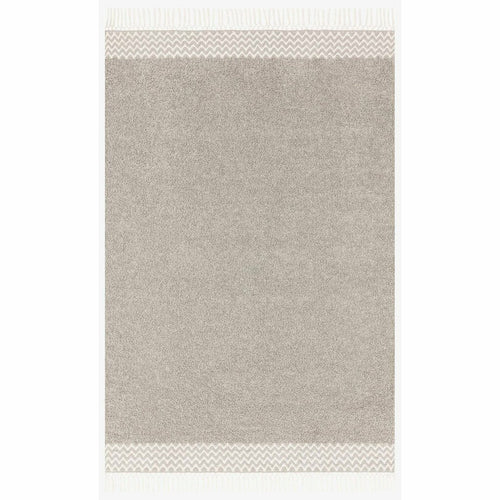 "Justina Blakeney x Loloi Aries ARE-02 Contemporary Hand Woven Area Rug-Rugs-Justina Blakeney x Loloi-Gray-1'-6"" x 1'-6""-Heaven's Gate Home, LLC"
