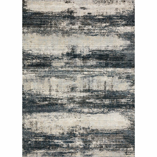 "Loloi Augustus AGS-07 Contemporary Power Loomed Area Rug-Rugs-Loloi-Navy-1'-6"" x 1'-6"" Sample-Heaven's Gate Home, LLC"