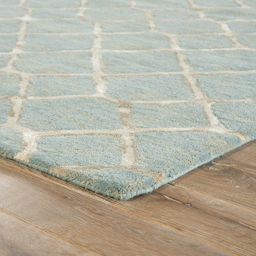 Jaipur Living Blue Totten BL157 Contemporary Handmade Area Rug