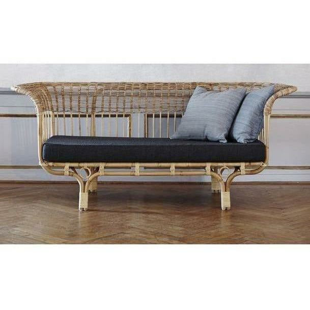 Sika-Design Icons Franco Albini Belladonna Sofa w/ Cushion, Indoor-Sofas-Sika Design-Natural-Sunbrella Sailcloth Shade Cushion-Heaven's Gate Home