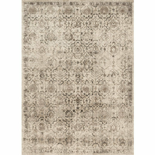 "Loloi Century CQ-03 Transitional Power Loomed Area Rug-Rugs-Loloi-Cream-1'-6"" x 1'-6"" Sample-Heaven's Gate Home, LLC"