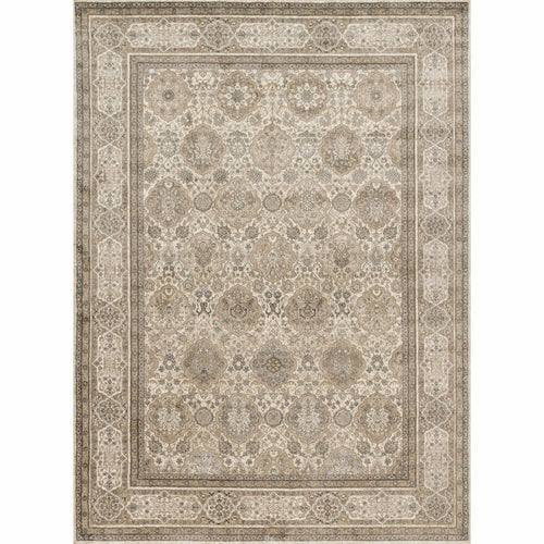 "Loloi Century CQ-05 Transitional Power Loomed Area Rug-Rugs-Loloi-Taupe-1'-6"" x 1'-6"" Sample-Heaven's Gate Home, LLC"