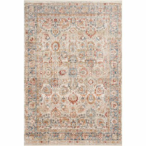 "Loloi Claire CLE-02 Traditional Power Loomed Area Rug-Rugs-Loloi-Rust-1'-6"" x 1'-6"" Sample-Heaven's Gate Home, LLC"