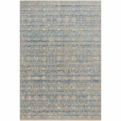 "Loloi Claire CLE-03 Traditional Power Loomed Area Rug-Rugs-Loloi-Tan-1'-6"" x 1'-6"" Sample-Heaven's Gate Home, LLC"