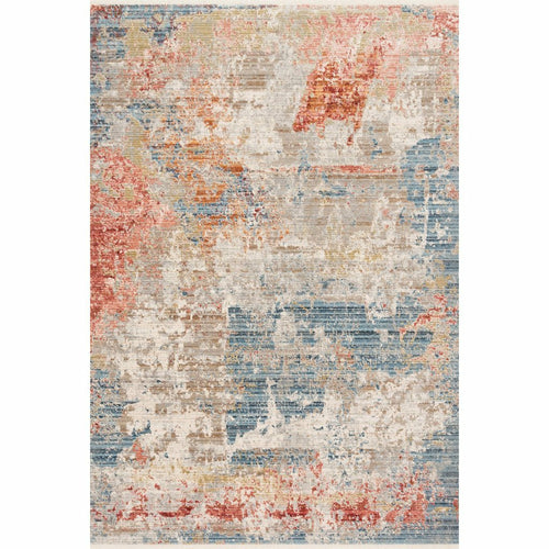 "Loloi Claire CLE-07 Traditional Power Loomed Area Rug-Rugs-Loloi-Gray-1'-6"" x 1'-6"" Sample-Heaven's Gate Home, LLC"