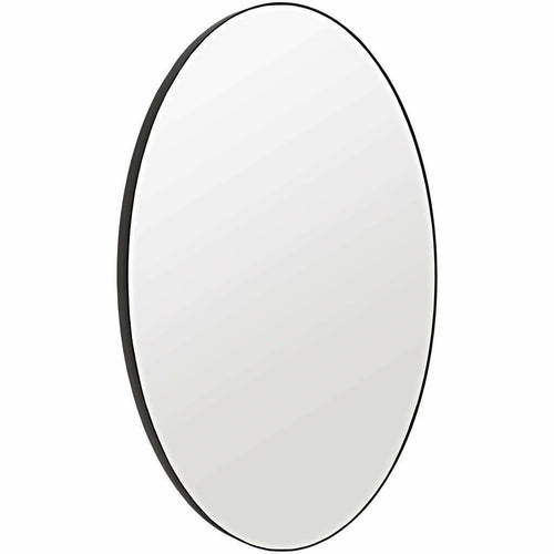 "CFC Argie Oval Mirror, Steel, 60"" H-Mirrors-CFC-Heaven's Gate Home"