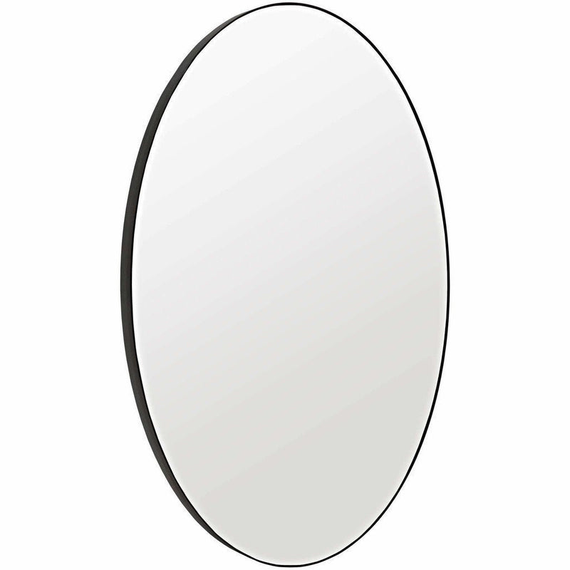"CFC Argie Oval Mirror, Steel, 60"" H-Mirrors-CFC-Heaven's Gate Home, LLC"