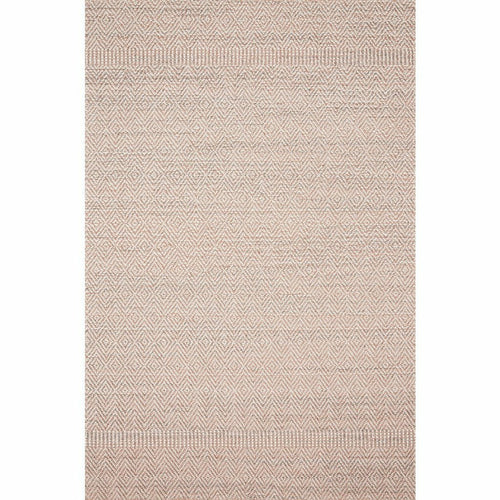 "Loloi Cole COL-02 Indoor/Outdoor Power Loomed Area Rug-Rugs-Loloi-Blush-1'-6"" x 1'-6"" Sample-Heaven's Gate Home, LLC"