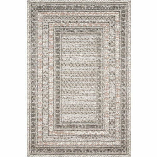"Loloi Cole COL-03 Indoor/Outdoor Power Loomed Area Rug-Rugs-Loloi-Gray-1'-6"" x 1'-6"" Sample-Heaven's Gate Home, LLC"
