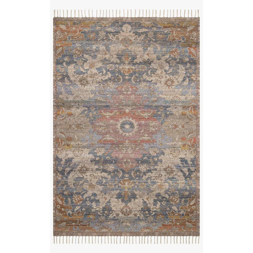 "Justina Blakeney x Loloi Cornelia COR-06 Transitional Hand Woven Area Rug-Rugs-Justina Blakeney x Loloi-Rust-1'-6"" x 1'-6""-Heaven's Gate Home, LLC"