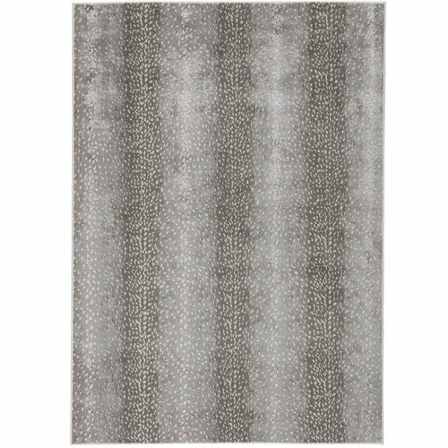 "Jaipur Living Catalyst Axis CTY08 Contemporary Machine Made Area Rug-Rugs-Jaipur Living-Gray-5'X7'6""-Heaven's Gate Home, LLC"