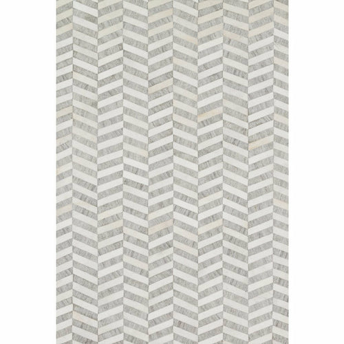 "Loloi Dorado DB-01 Contemporary Hand Stitched Area Rug-Rugs-Loloi-Gray-2'-6"" x 8'-0""-Heaven's Gate Home, LLC"