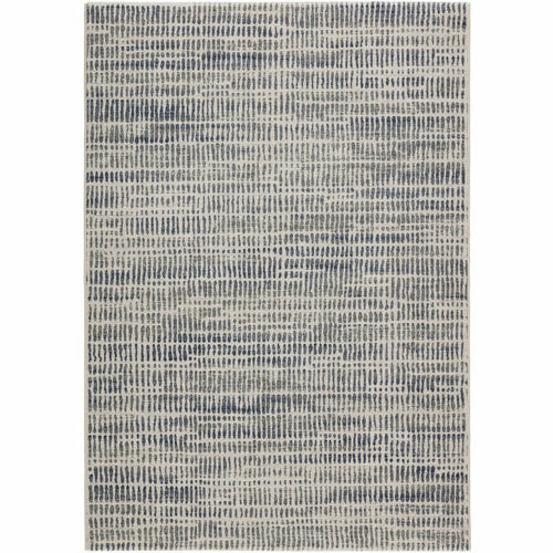 "Jaipur Living Dash Escape DSH16 Contemporary Machine Made Area Rug-Rugs-Jaipur Living-Gray-5'3""X7'6""-Heaven's Gate Home, LLC"