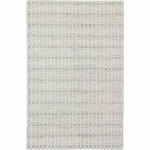 Jaipur Living Enclave Calliope ENC01 Contemporary Handmade Area Rug-Rugs-Jaipur Living-White-5'X8'-Heaven's Gate Home, LLC