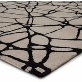 Nikki Chu by Jaipur Living Etho By Nikki Chu Chandler ENK12 Contemporary Handmade Area Rug