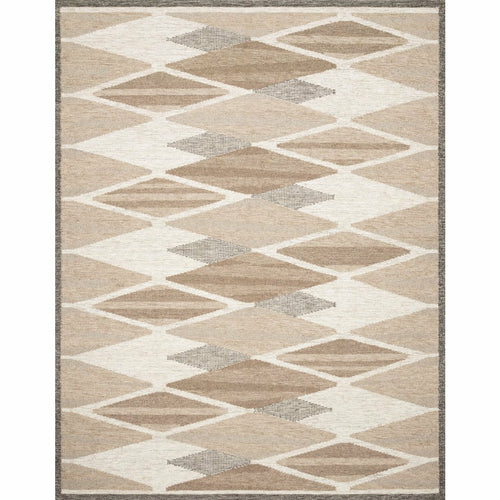 "Loloi Evelina EVE-04 Contemporary Hand Woven Area Rug-Rugs-Loloi-Taupe-1'-6"" x 1'-6"" Sample-Heaven's Gate Home, LLC"