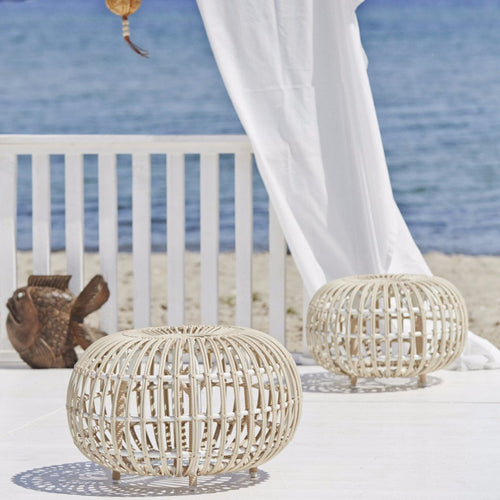 Sika-Design Exterior Franco Albini Ottoman, Outdoor-Ottomans-Sika Design-Heaven's Gate Home