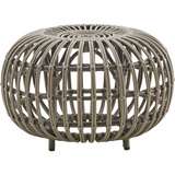 Sika-Design Exterior Franco Albini Ottoman, Outdoor-Ottomans-Sika Design-Brown-Small-Heaven's Gate Home