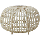 Sika-Design Exterior Franco Albini Ottoman, Outdoor-Ottomans-Sika Design-White-Small-Heaven's Gate Home