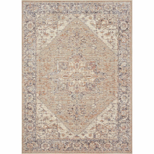 "Loloi Faye FAY-01 Transitional Power Loomed Area Rug-Rugs-Loloi-Taupe-18"" x 18"" Sample-Heaven's Gate Home, LLC"