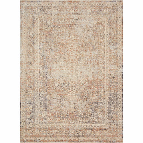 "Loloi Faye FAY-03 Transitional Power Loomed Area Rug-Rugs-Loloi-Beige-18"" x 18"" Sample-Heaven's Gate Home, LLC"