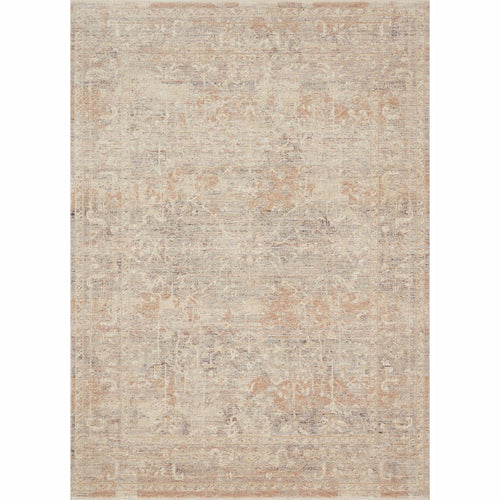 "Loloi Faye FAY-05 Transitional Power Loomed Area Rug-Rugs-Loloi-Beige-18"" x 18"" Sample-Heaven's Gate Home, LLC"