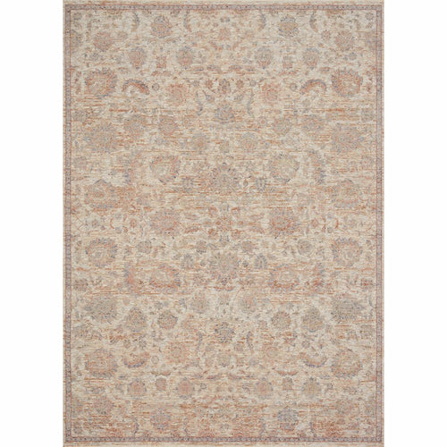 "Loloi Faye FAY-06 Transitional Power Loomed Area Rug-Rugs-Loloi-Beige-18"" x 18"" Sample-Heaven's Gate Home, LLC"