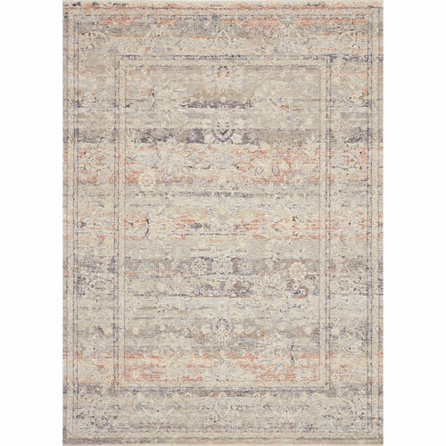 "Loloi Faye FAY-09 Transitional Power Loomed Area Rug-Rugs-Loloi-Rust-18"" x 18"" Sample-Heaven's Gate Home, LLC"