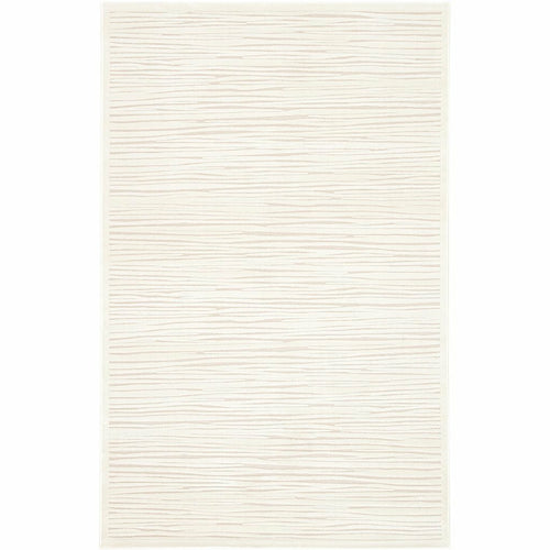 "Jaipur Living Fables Linea FB53 Contemporary Machine Made Area Rug-Rugs-Jaipur Living-White-5'X7'6""-Heaven's Gate Home, LLC"