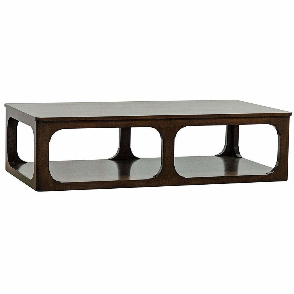"CFC Gimso Alder Coffee Table, Large (68"" L), Espresso *Quick Ship*-Coffee/Cocktail Tables-CFC-Heaven"