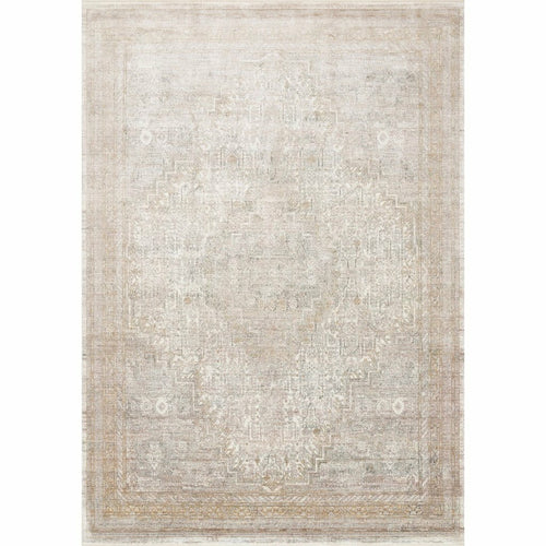 "Loloi Gemma GEM-01 Traditional Power Loomed Area Rug-Rugs-Loloi-Ivory-1'-6"" x 1'-6"" Sample-Heaven's Gate Home, LLC"