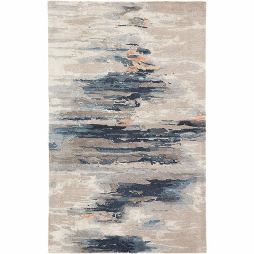 Jaipur Living Genesis Ryenn GES19 Contemporary Handmade Area Rug-Rugs-Jaipur Living-Blue-5'X8'-Heaven's Gate Home, LLC