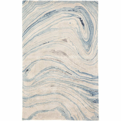Jaipur Living Genesis Atha GES22 Contemporary Handmade Area Rug-Rugs-Jaipur Living-Blue-5'X8'-Heaven's Gate Home, LLC