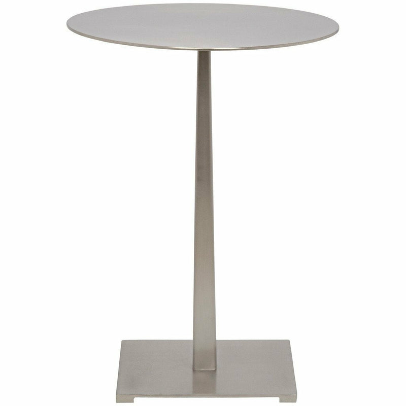 Noir Stiletto Side Table, Antique Silver-Side Tables-Noir Furniture-Heaven's Gate Home
