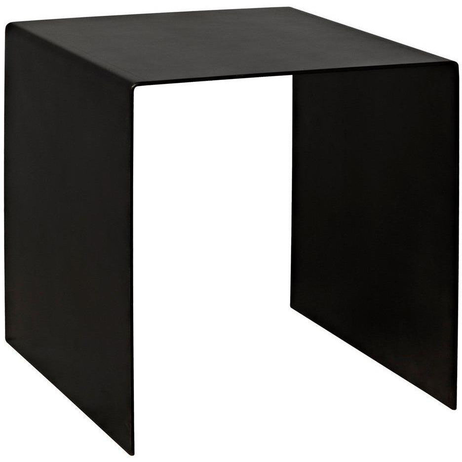 Noir Yves Side Table, Small-Side Tables-Noir Furniture-Heaven
