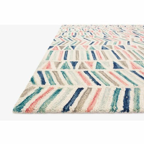Justina Blakeney x Loloi Hallu HAL-01 Contemporary Hooked Area Rug-Rugs-Justina Blakeney x Loloi-Heaven's Gate Home, LLC