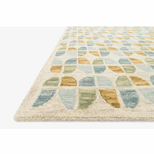 Justina Blakeney x Loloi Hallu HAL-04 Contemporary Hooked Area Rug-Rugs-Justina Blakeney x Loloi-Heaven's Gate Home, LLC