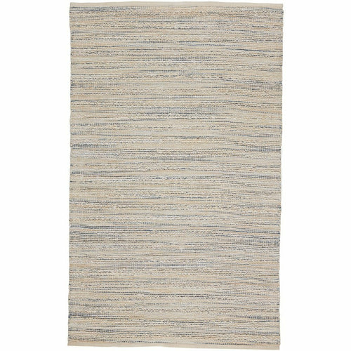 Jaipur Living Himalaya Canterbury HM25 Coastal Handmade Area Rug-Rugs-Jaipur Living-White-5'X8'-Heaven's Gate Home, LLC