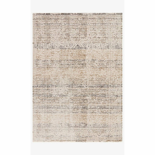 "Loloi Homage HOM-02 Transitional Power Loomed Area Rug-Rugs-Loloi-Beige-1'-6"" x 1'-6"" Sample-Heaven's Gate Home, LLC"