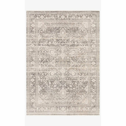 "Loloi Homage HOM-04 Transitional Power Loomed Area Rug-Rugs-Loloi-Gray-1'-6"" x 1'-6"" Sample-Heaven's Gate Home, LLC"
